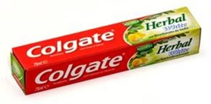 Picture of DENTIFRICO COLGATE HERBAL WHITE 75ML
