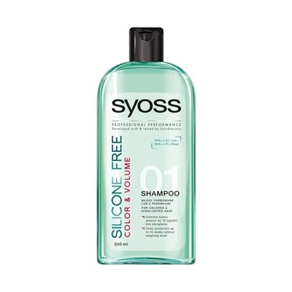Picture of CHAMPÔ SYOSS SELICONE FREE COLOR 500
