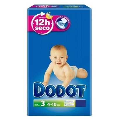 Picture of FRALDA DODOT AZUL T3 (4-10KG) 32