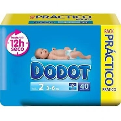 Picture of FRALDA DODOT AZUL T2 (3-6KG) 40