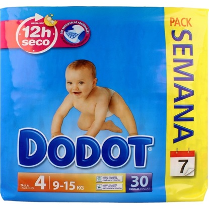 Picture of FRALDA DODOT AZUL T4 (9-15KG) 30
