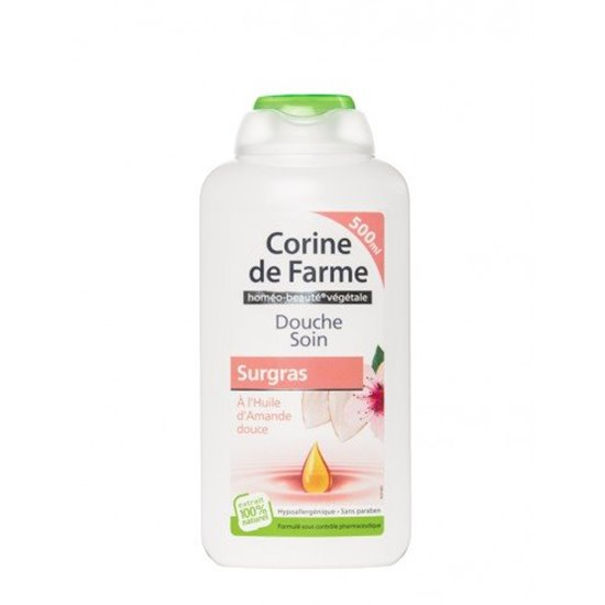 Picture of GEL DE BANHO CORINE DE FARME OLEO AMENDOA 500ML