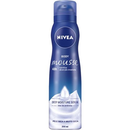 Picture of BODY MOUSSE NIVEA NUTRITIVA 200ML