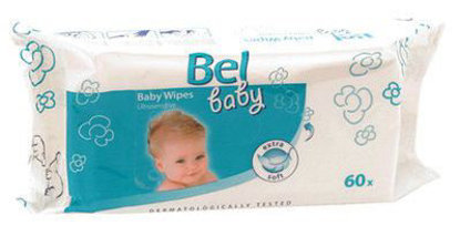 Picture of Toalhitas Bel Baby 60unid